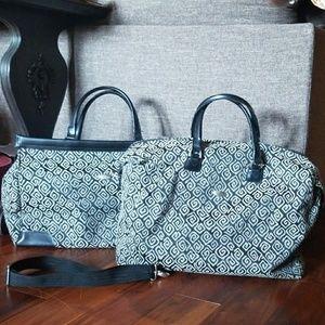 TWO Diane Von Furstenberg Weekender Overnight Bags